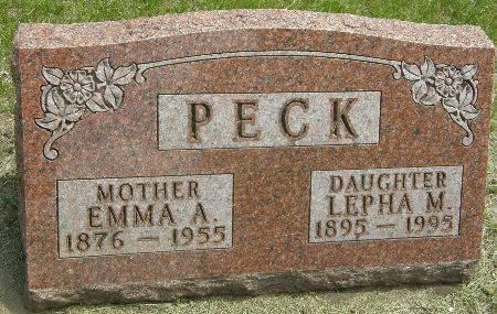 PECK, EMMA A. - Black Hawk County, Iowa | EMMA A. PECK