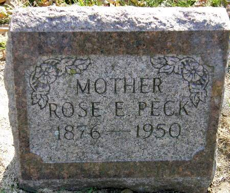 PECK, ROSE EMALINE - Black Hawk County, Iowa | ROSE EMALINE PECK