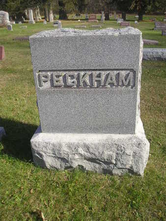 PECKHAM, FAMILY - Black Hawk County, Iowa | FAMILY PECKHAM