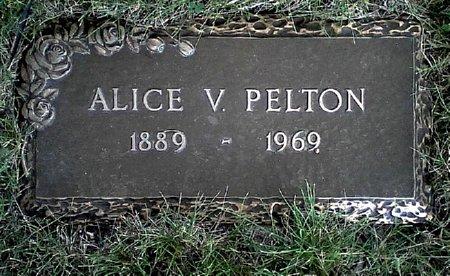 PELTON, ALICE V. - Black Hawk County, Iowa | ALICE V. PELTON