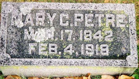 PETRE, MARY C. - Black Hawk County, Iowa | MARY C. PETRE