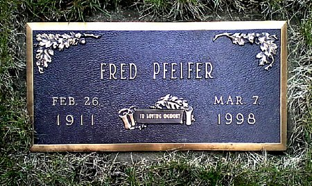PFEIFER, FRED - Black Hawk County, Iowa | FRED PFEIFER