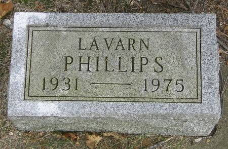 PHILLIPS, LAVARN - Black Hawk County, Iowa | LAVARN PHILLIPS