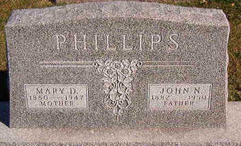 PHILLIPS, MARY D. - Black Hawk County, Iowa | MARY D. PHILLIPS
