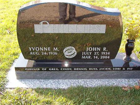 PHILLIPS, YVONNE M. - Black Hawk County, Iowa | YVONNE M. PHILLIPS