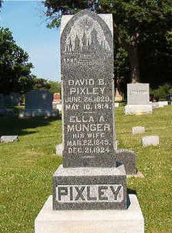 MUNGER PIXLEY, ELLA A. - Black Hawk County, Iowa | ELLA A. MUNGER PIXLEY