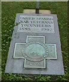 PLAQUE, SPANISH WAR - Black Hawk County, Iowa | SPANISH WAR PLAQUE
