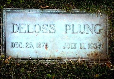 PLUNG, DELOSS - Black Hawk County, Iowa   DELOSS PLUNG
