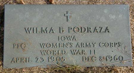 PODRAZA, WILMA E. - Black Hawk County, Iowa | WILMA E. PODRAZA
