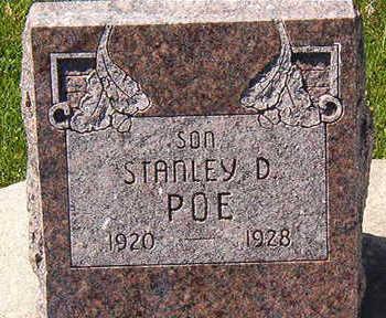 POE, STANLEY D. - Black Hawk County, Iowa   STANLEY D. POE
