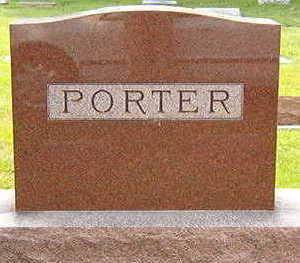 PORTER, FAMILY STONE - Black Hawk County, Iowa | FAMILY STONE PORTER