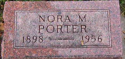 PORTER, NORA M. - Black Hawk County, Iowa   NORA M. PORTER