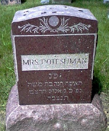 POTESHMAN, MRS. - Black Hawk County, Iowa | MRS. POTESHMAN