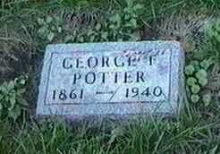 POTTER, GEORGE F. - Black Hawk County, Iowa | GEORGE F. POTTER