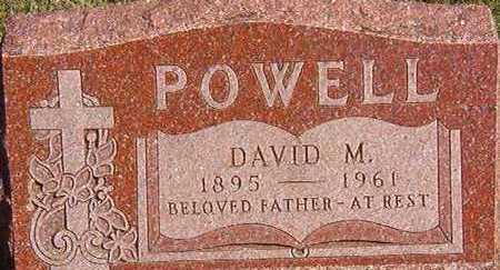 POWELL, DAVID M. - Black Hawk County, Iowa | DAVID M. POWELL