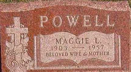 POWELL, MAGGIE L. - Black Hawk County, Iowa | MAGGIE L. POWELL