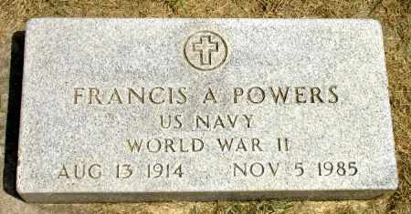 POWERS, FRANCIS A. - Black Hawk County, Iowa | FRANCIS A. POWERS