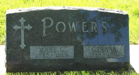 POWERS, G. FRANK - Black Hawk County, Iowa | G. FRANK POWERS