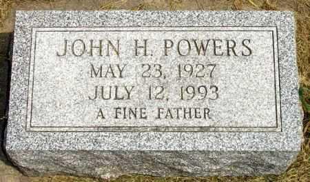 POWERS, JOHN H. - Black Hawk County, Iowa | JOHN H. POWERS