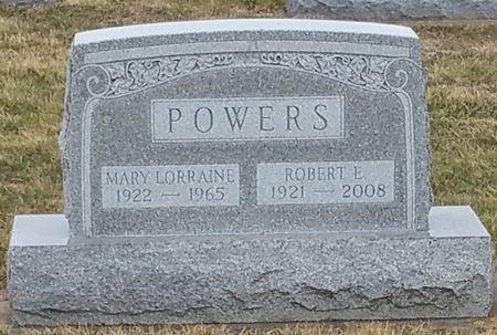 POWERS, ROBERT E - Black Hawk County, Iowa   ROBERT E POWERS