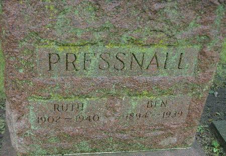 PRESSNALL, RUTH - Black Hawk County, Iowa | RUTH PRESSNALL