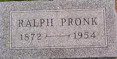 PRONK, RALPH - Black Hawk County, Iowa | RALPH PRONK