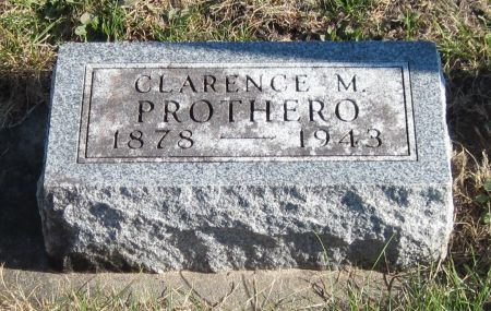 PROTHERO, CLARENCE M - Black Hawk County, Iowa | CLARENCE M PROTHERO