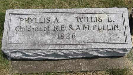 PULLIN, PHYLLIS A. - Black Hawk County, Iowa | PHYLLIS A. PULLIN