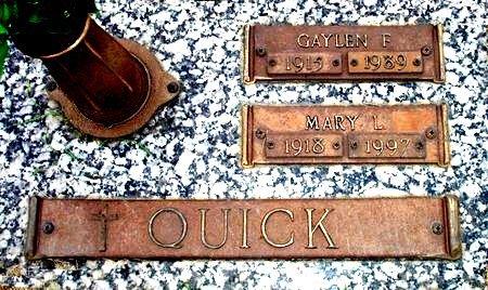 QUICK, GAYLEN F. - Black Hawk County, Iowa | GAYLEN F. QUICK