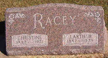 RACEY, J. ARTHUR - Black Hawk County, Iowa | J. ARTHUR RACEY
