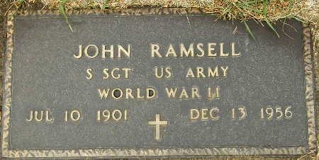 RAMSELL, JOHN - Black Hawk County, Iowa | JOHN RAMSELL