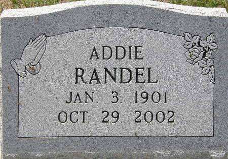 RANDEL, ADDIE - Black Hawk County, Iowa | ADDIE RANDEL