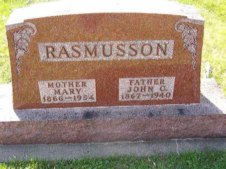 RASMUSSEN, JOHN C. - Black Hawk County, Iowa | JOHN C. RASMUSSEN