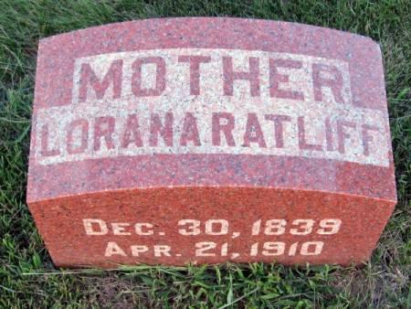 RATLIFF, LORANA - Black Hawk County, Iowa | LORANA RATLIFF
