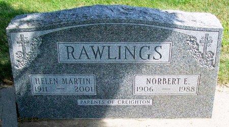 MARTIN RAWLINGS, HELEN - Black Hawk County, Iowa | HELEN MARTIN RAWLINGS