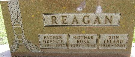 REAGAN, ORVILLE - Black Hawk County, Iowa | ORVILLE REAGAN
