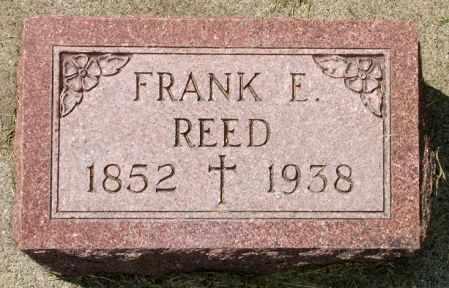 REED, FRANK E. - Black Hawk County, Iowa | FRANK E. REED