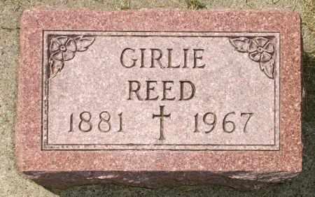 REED, GIRLIE - Black Hawk County, Iowa | GIRLIE REED