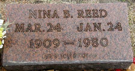 REED, NINA B. - Black Hawk County, Iowa   NINA B. REED