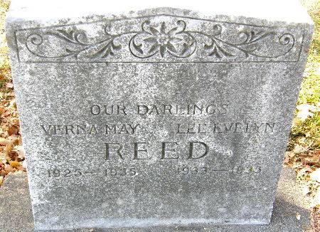 REED, LEE EVELYN - Black Hawk County, Iowa | LEE EVELYN REED