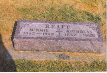 REIFF, MINNIE - Black Hawk County, Iowa | MINNIE REIFF