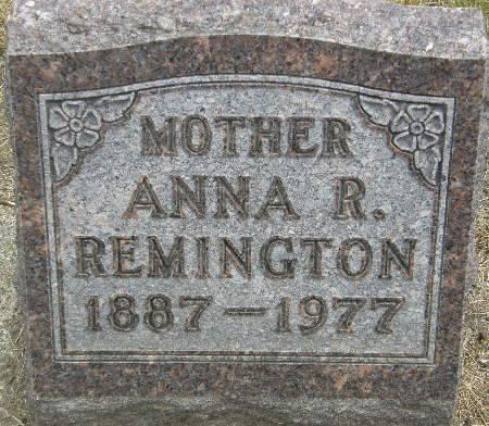 REMINGTON, ANNA R. - Black Hawk County, Iowa | ANNA R. REMINGTON