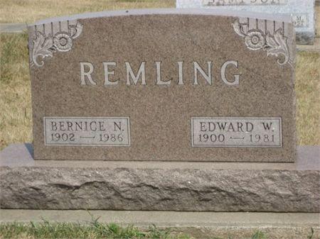 HENLEY REMLING, BERNICE - Black Hawk County, Iowa | BERNICE HENLEY REMLING