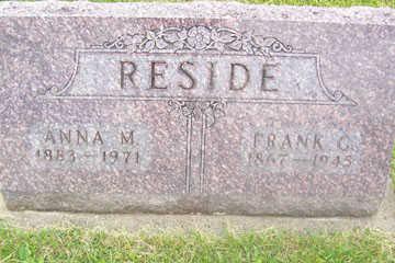 RESIDE, FRANK - Black Hawk County, Iowa | FRANK RESIDE