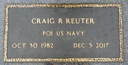 REUTER, CRAIG R. - Black Hawk County, Iowa | CRAIG R. REUTER