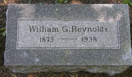 REYNOLDS, WILLIAM G. - Black Hawk County, Iowa | WILLIAM G. REYNOLDS