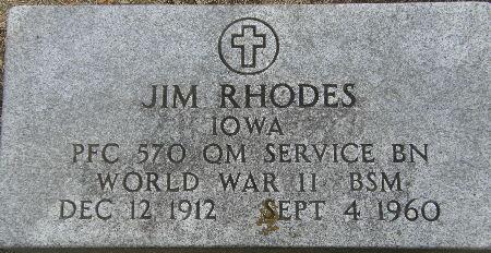RHODES, JIM - Black Hawk County, Iowa | JIM RHODES
