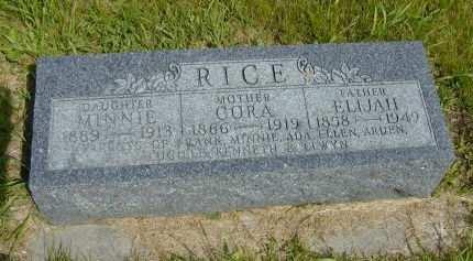 RICE, ELIJAH - Black Hawk County, Iowa | ELIJAH RICE