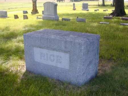 SCHOTT RICE, CATHARINE A. - Black Hawk County, Iowa   CATHARINE A. SCHOTT RICE