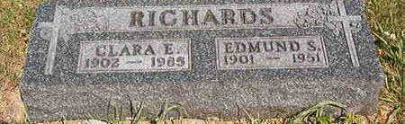 RICHARDS, CLARA E. - Black Hawk County, Iowa | CLARA E. RICHARDS